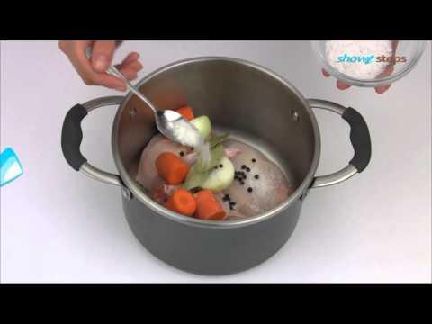 Как приготовить бульон из курицы - видео