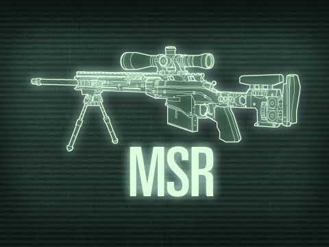 Weapons of Modern Warfare - Remington MSR