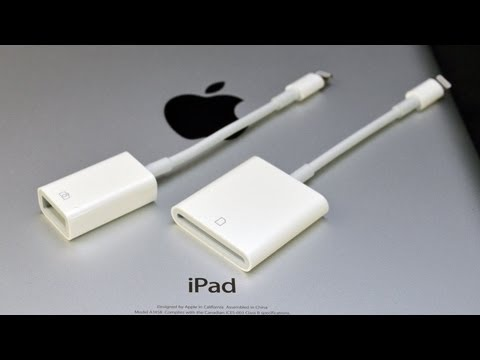 Apple iPad Lightning to USB Camera Adapter & SD Card Reader: Demo (Camera Connection Kit)