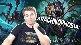 (Hearthstone) Arachnophobia!