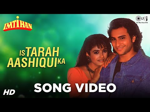 Is Tarah Aashiqui Ka Song Video - Imtihaan - Sunny Deol Raveena...