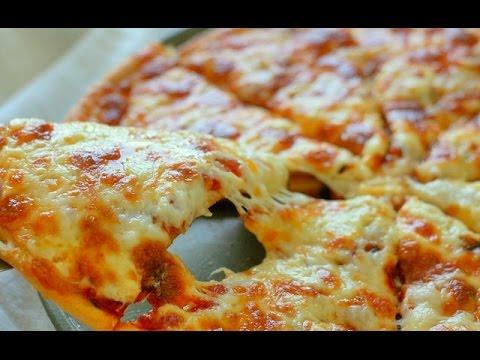 Как приготовить пиццу с сыром - видео