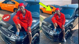 WOW - SHATTA WALE'S GETS 2019 RANGE ROVER AS BIRTHDAY GIFT