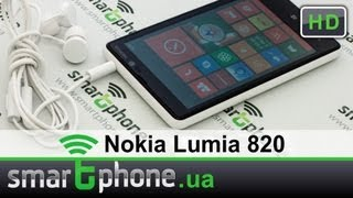 Nokia Lumia 820 - обзор