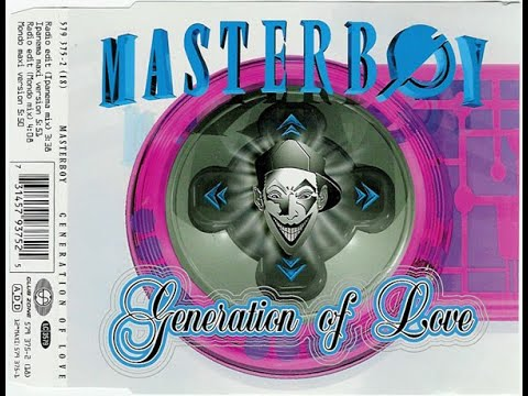 ♥90's♥ Masterboy - Generation Of Love (Radio Edit)