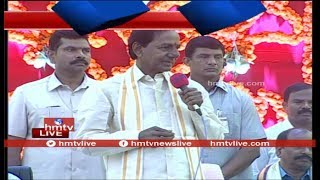 Telangana CM KCR Speech At Ugadi Festival Celebrations 2018  | hmtv