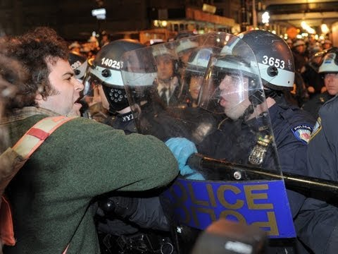 Occupy Wall Street Media Blackout, Police State