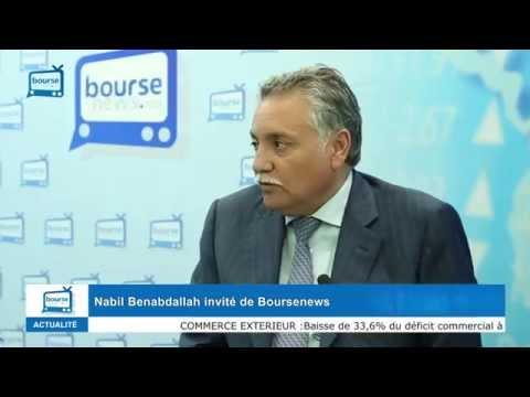 Bourse News invite : Nabil Benabdallah