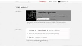 download lagu How To Verify Pinterst  Your Wordpress Or Squarespace gratis