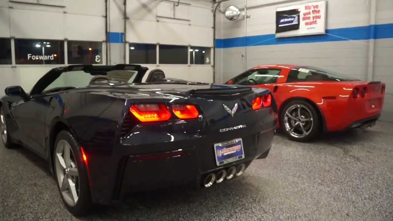 2014 Corvette Stingray Convertible Vs 2013 Corvette Grand