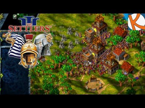 Und so beginnt unser Marsch gegen den Römer • Die Siedler 3 Missions CD #186