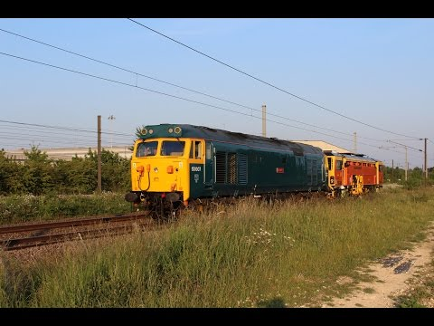 Incredible East Coast Main Line traction variety   Steam, Diesel & Electric, 22nd to 24th June 2015