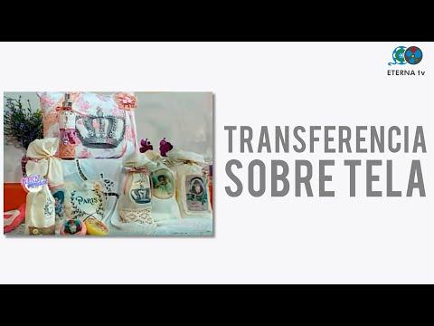 Transferencia sobre Tela - Mónica Godfroit en Bienvenidas Tv