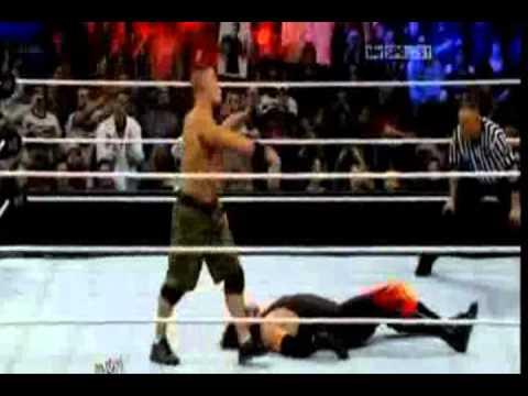 John Cena Vs Kane Elimination Chamber 2012 Promo video