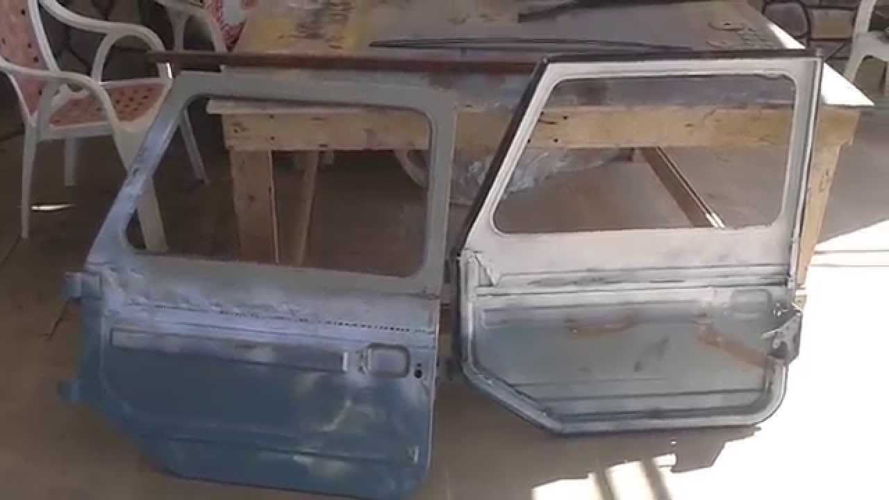 Переделываем двери ЛуАЗа. первый ролик. д.Али. - YouTube