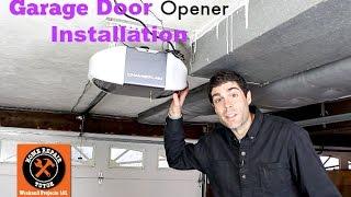 Garage Door Opener Installation -- by Home Repair Tutor