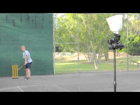 Brett Lee Bowling Machine 2 video