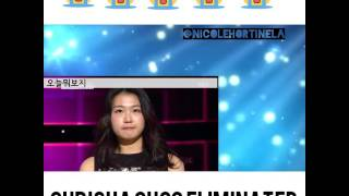 Chrisha Choo ( Kriesha Tiu ) Eliminatedin kpopstar