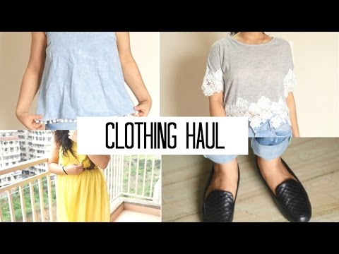 Clothing Try On Haul | Landmarkshops, FBB, Max, Lifestyle, Allen Solly etc