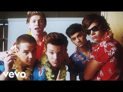 One Direction - Kiss You (official) video
