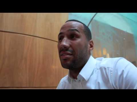 JAMES DeGALE SAYS FROCH DOESN'T WANT FIGHT, TALKS PERIBAN FIGHT ON NOV 22, RAMIREZ & GEORGE GROVES.