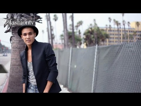 Model Josh In Los Angeles Photo Shoot By Marco Gradara | Fashiontv video