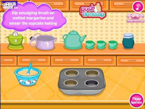 Game | hello kitty donut muffins gameplay hello kitty cooking kitchen game jeux de filles en ligne | hello kitty donut muffins gameplay hello kitty cooking kitchen game jeux de filles en ligne