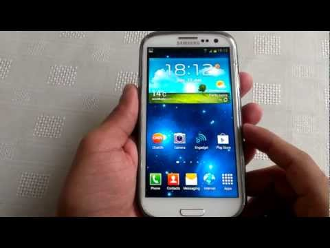 samsung galaxy s3 (PALM SWIPE TO TAKE SCREEN SHOT)