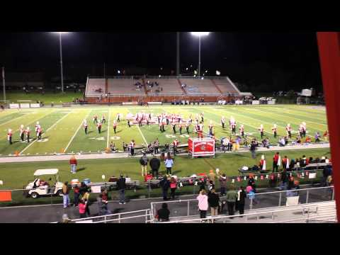 Hazleton Area High School Marching Cougar Band: KA Field Show (Performance 11)