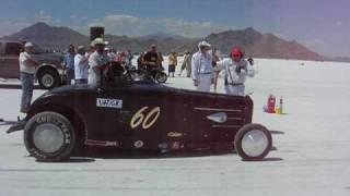 Montana Dodge Boys Fast Four Special V4F/GR 2009 Bonneville record run