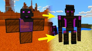 Minecraft: Como Invocar un Golem Enderman Epico Real