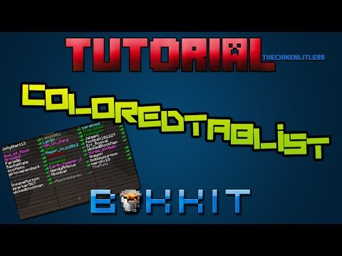 Minecraft - Plugin ColoredTablist [ Tutorial Bukkit en Español ] Colorea los Nicks en el tabulador