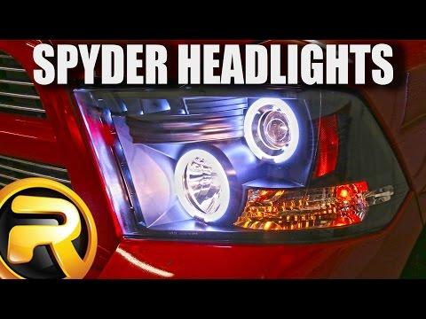 How to Install Spyder Halo Headlights