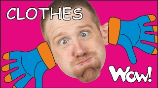Clothes for Kids | Kids Short Stories for Children from Steve and Maggie | Wow English TV