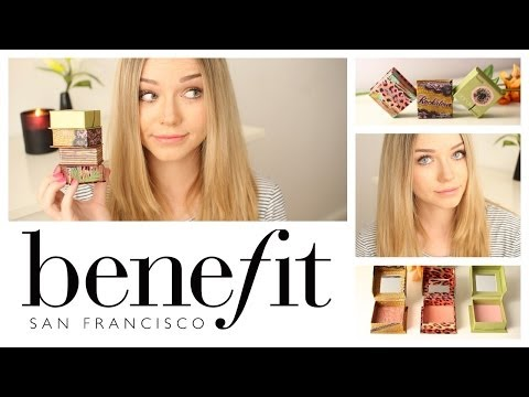 The Best of Benefit Cosmetics (My Collection + Review)   Beauty.Life.Michelle