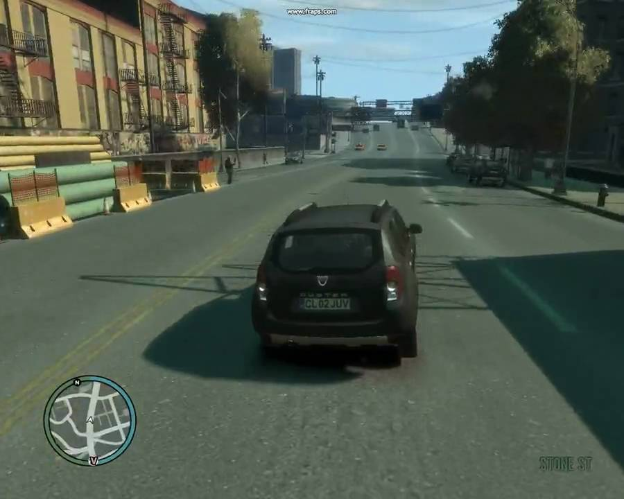 gta iv dacia duster crash test youtube. Black Bedroom Furniture Sets. Home Design Ideas