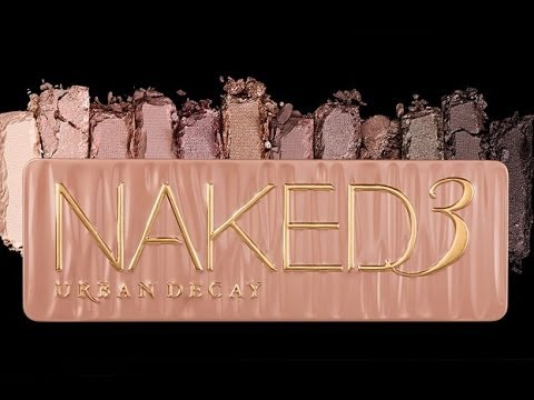 URBAN DECAY NAKED 3 EYESHDAOW PALETTE REVIEW/THOUGHTS/IMPRESSIONS