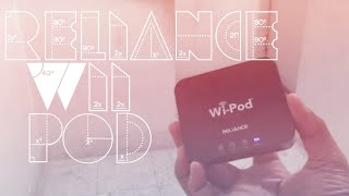 wifi creator!! reliance wii pod max