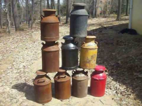 from Alfredo dating old milk cans