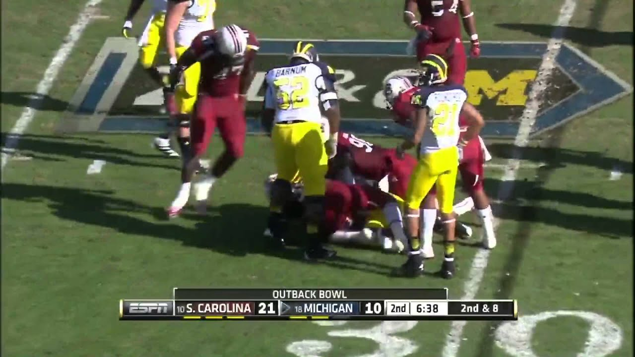 Image result for michigan outback bowl uniforms