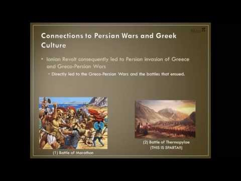 the causes of the ionian revolt Tensions snap: the ionian revolt 499 – 493 bc  after suffered another  crushing defeat at lade, its result spelling disaster for their cause.