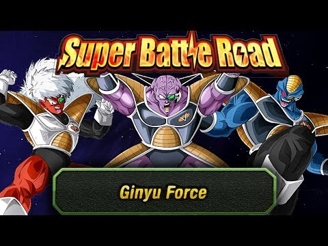 Ginyu Force Category Super Battle Road | Dragon Ball Z Dokkan Battle