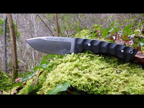 Muela Rhino Hunting Knife review English Language