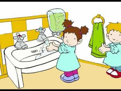 Lavándonos las manos al ritmo de la música
