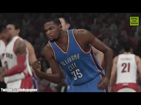 Kevin Durant Highlights - NBA 2K15 (Oklahoma City Thunder 2014 - 2015)