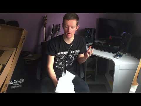 Jackson Mick Thomson SL2 unboxing - Import