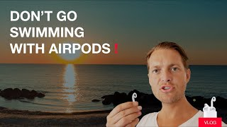🚫 AirPods waterproof? Don't go swimming with Apple headset earphones