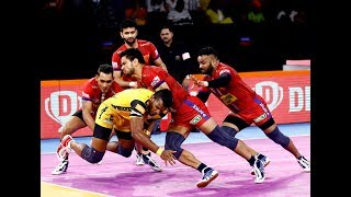 Pro Kabaddi 2019 Highlights: Dabang Delhi vs Telugu Titans