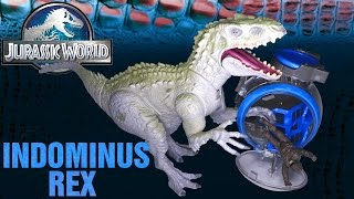 Opening: Jurassic World INDOMINUS REX vs Gyro Sphere set
