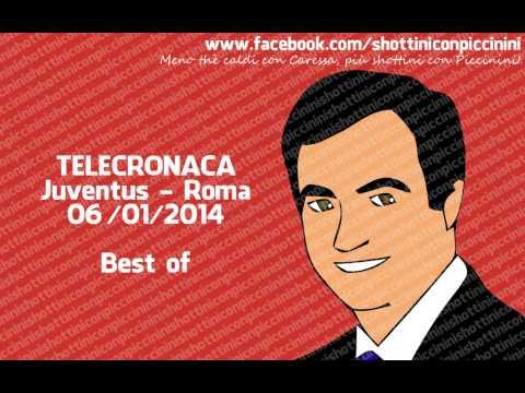 Sandro Piccinini - Juventus vs. Roma 3-0, Serie A TIM, 05/01/2014